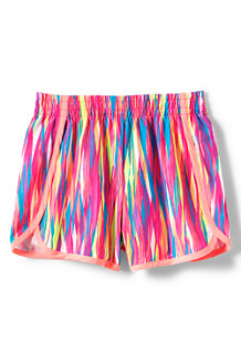 Gemusterte Performance-Shorts für  Mädchen