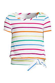 Shirt mit Knoten-Saum für Mädchen