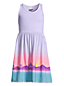 Girls' Sleeveless V-neck Jersey Dress