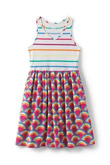 Trägerkleid mit Ringerrücken für Mädchen