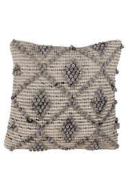 Saro Lifestyle Diamond Weave Design Decorative Throw Pillow