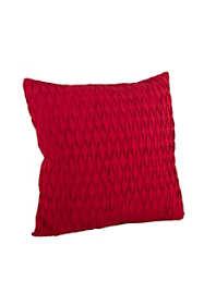Saro Lifestyle Pleated Diamond Design Decorative Throw Pillow