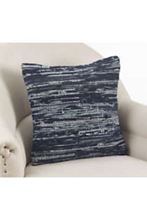 Saro Lifestyle Denim Chindi Decorative Throw Pillow, alternative image