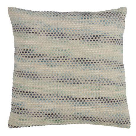 Saro Lifestyle Multi Color Design Decorative Throw Pillow