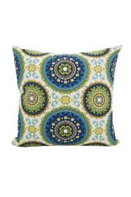 Saro Lifestyle Kaleidoscope Print Design Outdoor Pillow