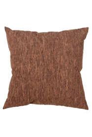 Saro Lifestyle Rustic Cork Decorative Throw Pillow