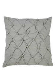 Saro Lifestyle Pintuck Diamond Pattern Decorative Throw Pillow