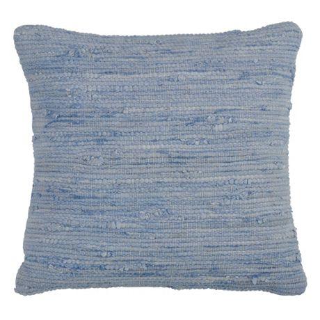 Saro Lifestyle Solid Chindi Decorative Throw Pillow