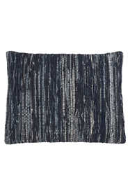Saro Lifestyle Denim Chindi Decorative Throw Pillow