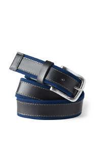 Men's Leather Canvas Belt
