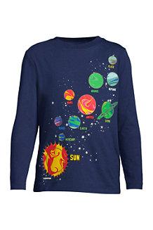 Grafik-Langarmshirt für Jungen