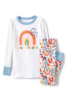 Schmal geschnittenes Pyjama-Set für Kinder