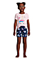 Girls' Graphic Pyjama Shorts Set