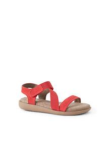 Sandale Confort Plate, Femme