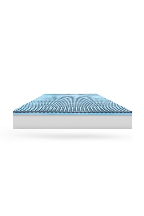 Charcoal Infused Memory Foam Mattress Topper