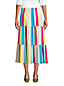 Women's Jersey Tiered Midi Skirt