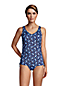 Women's Adjustable Chlorine Resistant V-neck Underwire Tankini Top - DDD Cup