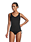 Women's Adjustable Chlorine Resistant V-neck Underwire Tankini - DD Cup