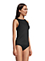Women's Chlorine Resistant High Neck UPF Tankini