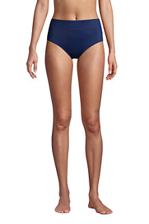 Women's Chlorine Resistant High Waisted Bikini Bottoms