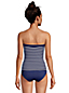 Women's Bandeau Tankini Top - D Cup