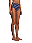 Bas de Bikini Taille Haute Résistant au Chlore, Femme Stature Standard