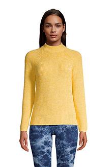 Shaker-Pullover DRIFTER mit Stehkragen für Damen