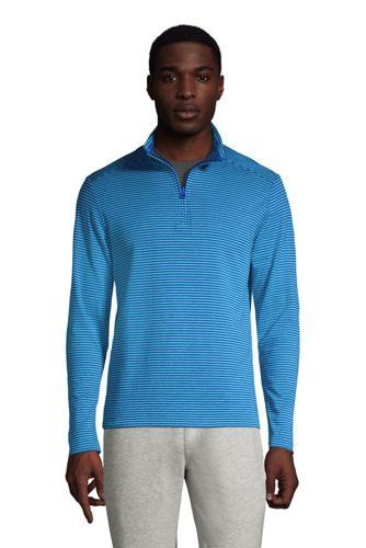 Men's Cotton Half Zip Top