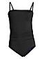 Women's Chlorine Resistant Tummy Control Bandeau Swimsuit