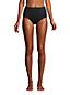 Bas de Bikini Gainant Taille Haute Résistant au Chlore, Femme Stature Standard