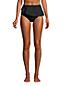 Bas de Bikini Paréo Taille Haute Résistant au Chlore, Femme Stature Standard