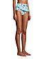 Women's Chlorine Resistant Faux Wrap High Waisted Bikini Bottoms