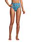 High Waist Bikinihose CHLORRESISTENT mit Bauchweg-Futter Gemustert für Damen