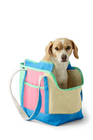 Canvas Colorblock Dog Tote Carrier