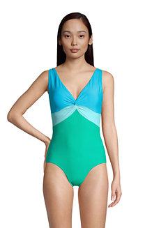 Control Badeanzug mit Knotendesign CHLORRESISTENT für Damen