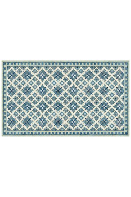 Bungalow Flooring Skid Resistant Diamond Print Floor Mat