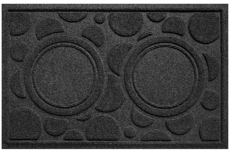 Bungalow Flooring Waterblock Dots Dog Bowl Mat