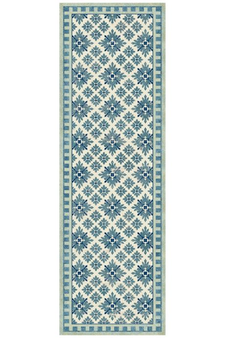 Bungalow Flooring Skid Resistant Diamond Print Floor Mat