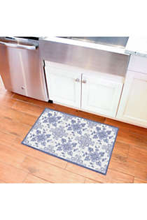 Bungalow Flooring Skid Resistant Floral Floor Mat, alternative image
