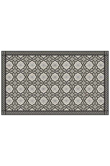 Bungalow Flooring Skid Resistant Medallion Print Floor Mat