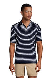 Men's Slub Jersey Polo Shirt
