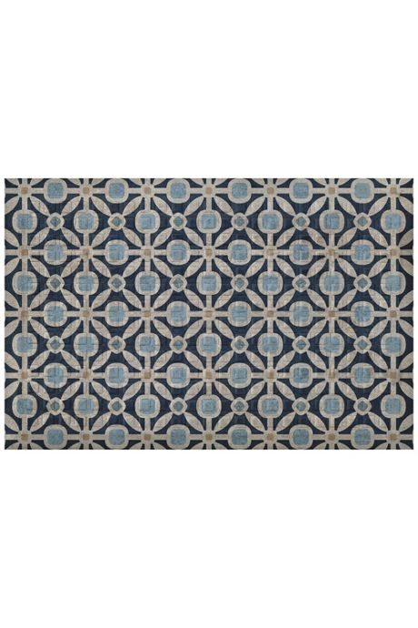 Bungalow Flooring Comfort Tread Geometric Design Floor Mat