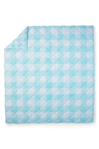 Easy Care Cotton Percale Gingham Comforter - 200 Thread Count