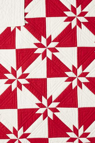 30th Anniversary Hunters Star Quilted Sham