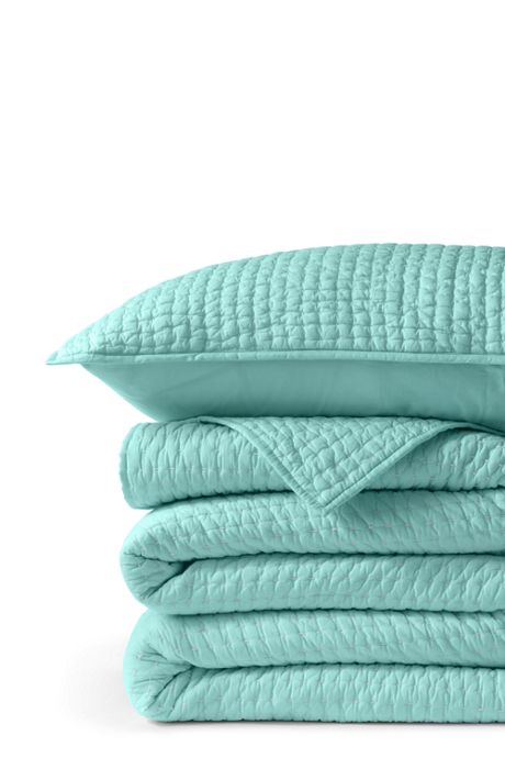 Seed Stitch Quilted Sham