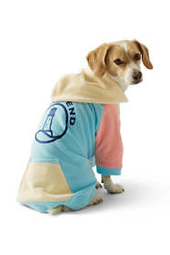 Serious Sweats Colorblock Hoodie Dog Coat