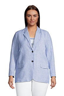 Women's Pure Linen Jacket