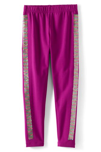 Knöchellange Leggings Tough Cotton mit Muster für große Mädchen