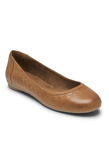 Women's Cobb Hill Maiika Leather Ballet Flats