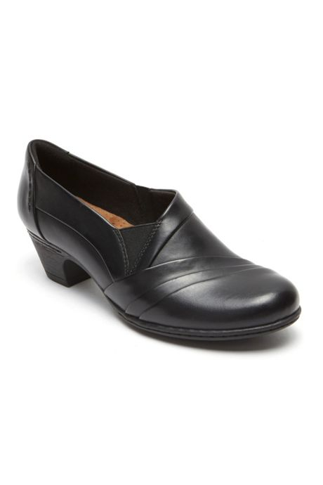 Women's Cobb Hill Abbott Leather Slip On Heels